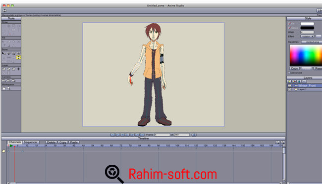 Smith Micro Anime Studio Pro free