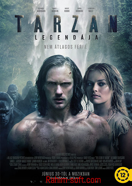 The Legend of Tarzan 2016 Free download