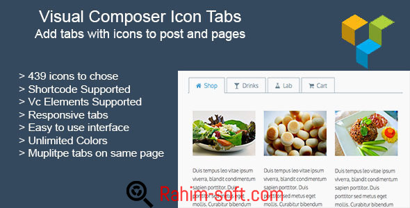 Visual Composer Icon Tabs Addon v1.2.6