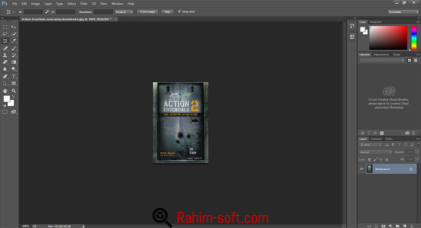 Adobe Photoshop CC 2015 Free download