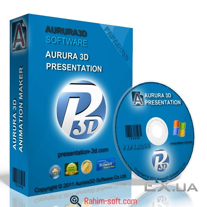 Aurora 3D Text & Logo Maker 16.1 with Keygen