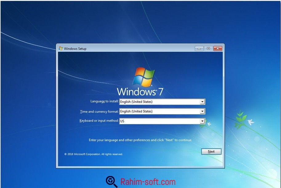 Windows 7 AIO SP1 September 2016 Free download