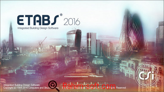 CSI ETABS 2016 v16 Free Download
