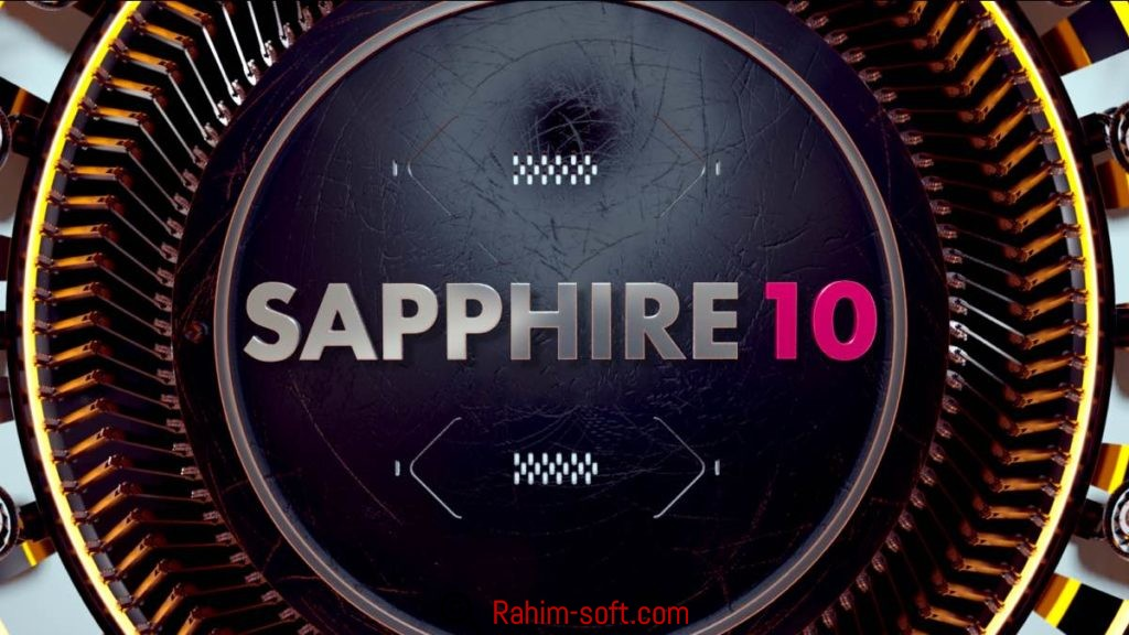 Genarts Sapphire 10 for After Effects Free Download