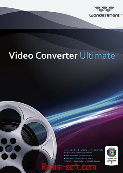 Wondershare Video Converter Ultimate v9.0.0.4 Free download