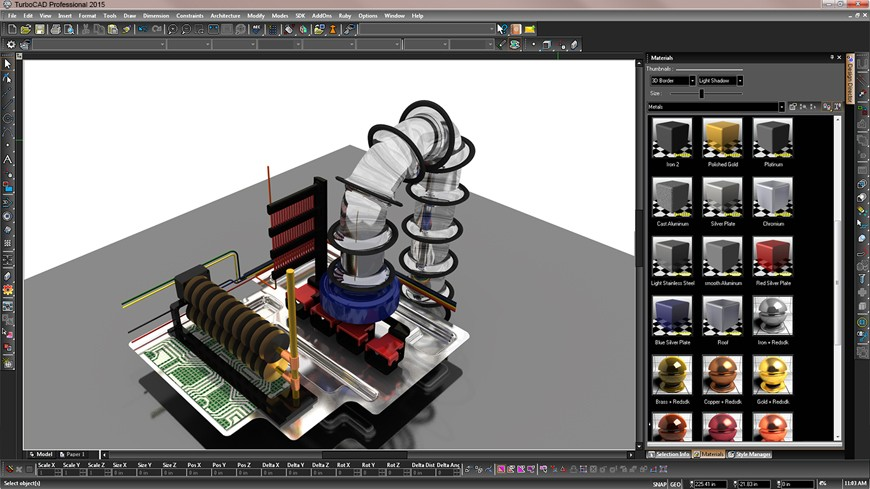 TurboCAD Pro Platinum 2015 22.2 Free download