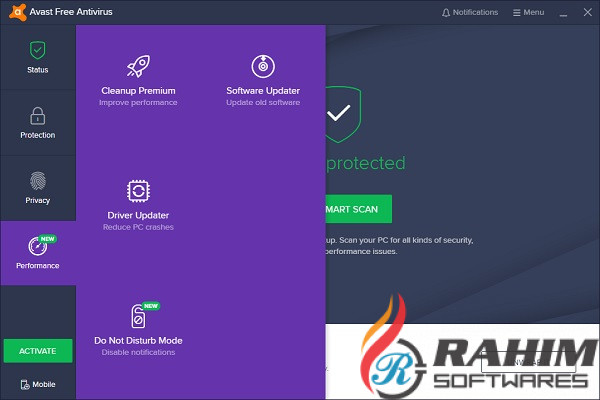 Avast Antivirus Pro 2019 v19.6 Free Download