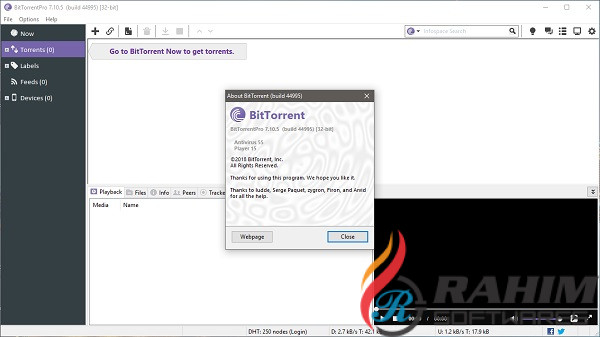 BitTorrent Pro 7.10.5 Free Download