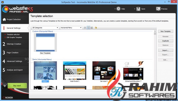 Incomedia WebSite X5 Professional 17 Free Download