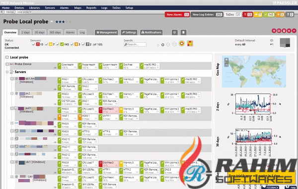 PRTG Network Monitor 2015 v15 Free Download