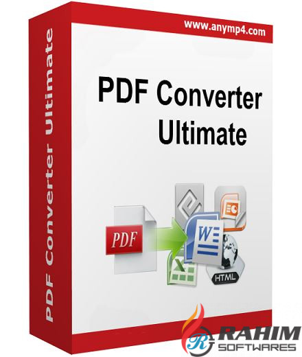 AnyMP4 PDF Converter Ultimate 3.3.8 Free Download