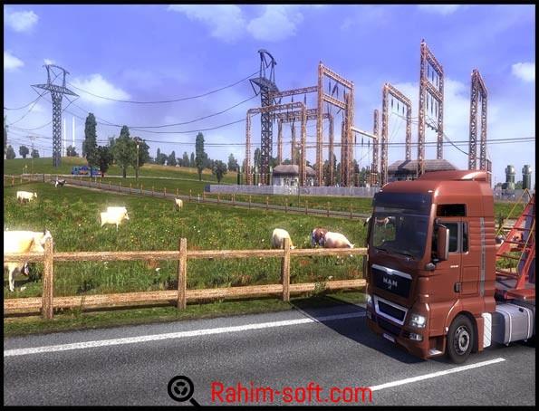 Euro Truck Simulator 2 v 1.22.2.6s + 29 DLC