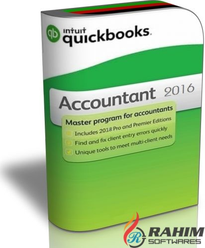 Intuit QuickBooks Enterprise Accountant 2016 Free Download