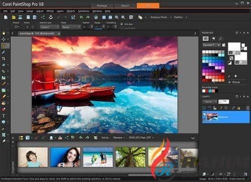 Corel PaintShop Pro X8 Ultimate Free Download