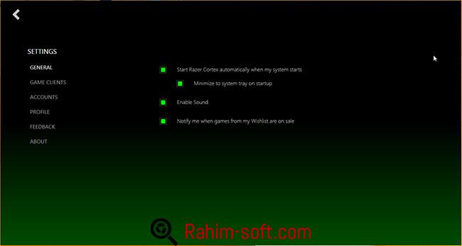 Razer Cortex Game Booster v6