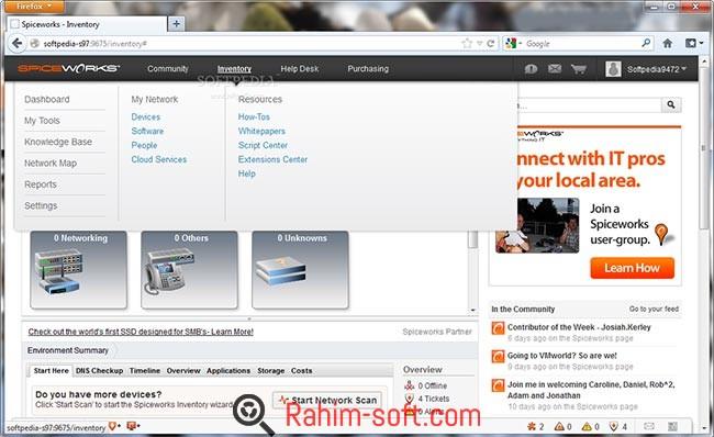 Spiceworks IT Desktop full version