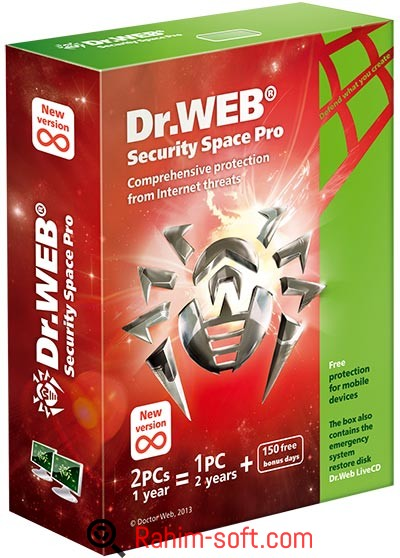 Dr.Web Security Space v11.0.3.4210