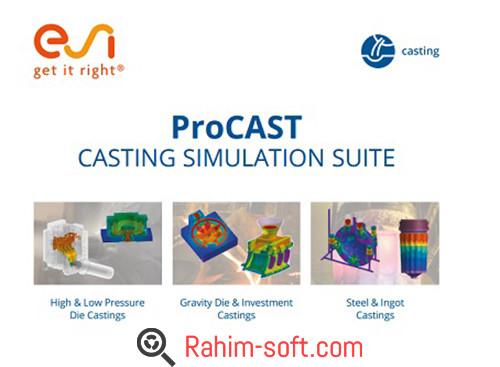 ESI ProCAST 2016 Suite Free download
