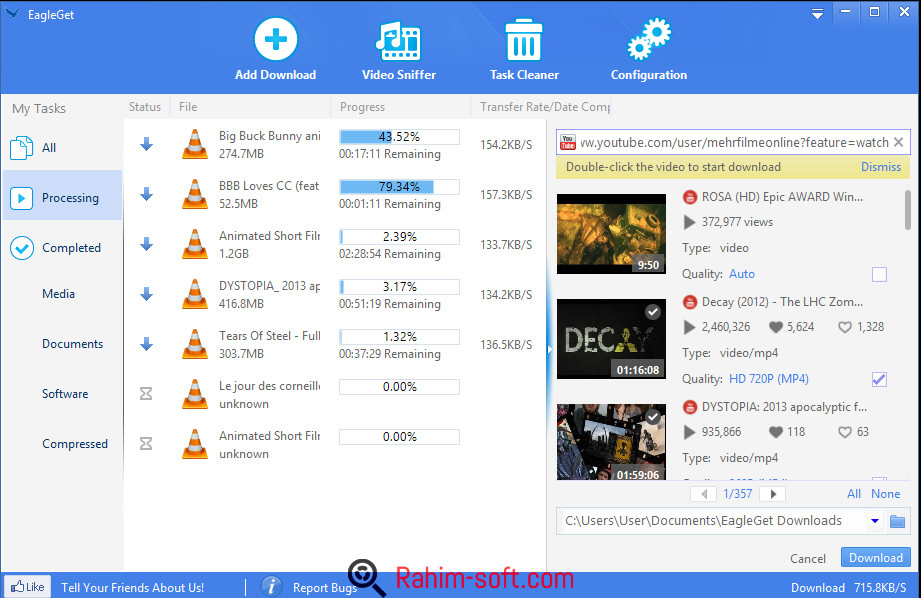 EagleGet 2.0 Portable Free Download