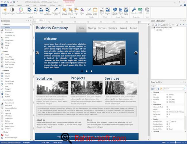 WYSIWYG Web Builder v11 Free Download