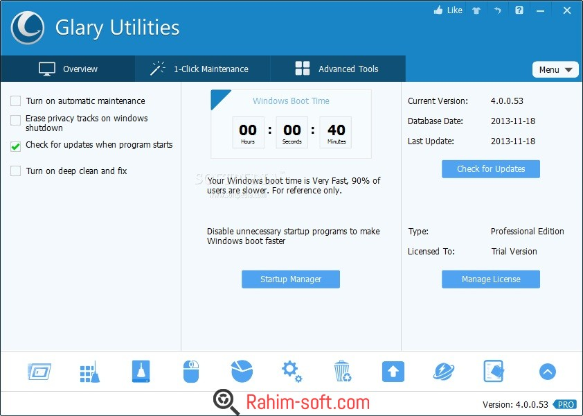 Glary Utilities Pro 5.59 Free Download