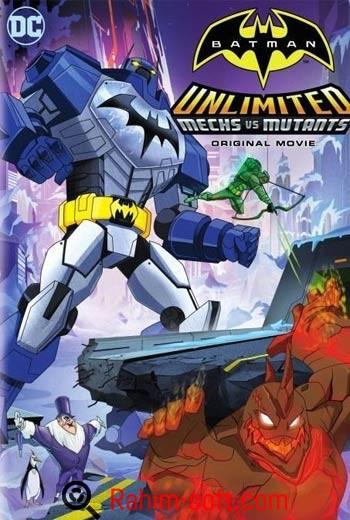 Batman Unlimited Mechs vs Mutants 2016 Free download