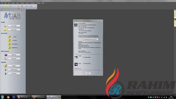 Delcam ArtCAM 2012 SP2 Free Download