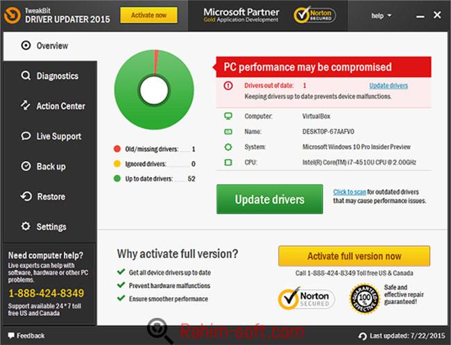 TweakBit Driver Updater v1.7 Free Download