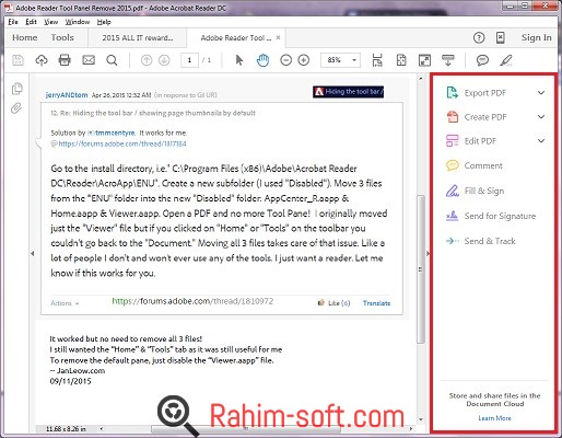 Adobe Acrobat Reader DC 2015 Free download
