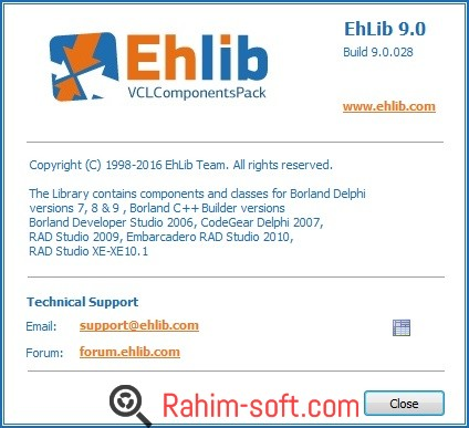 EhLib 9.0 Free Download Full Version