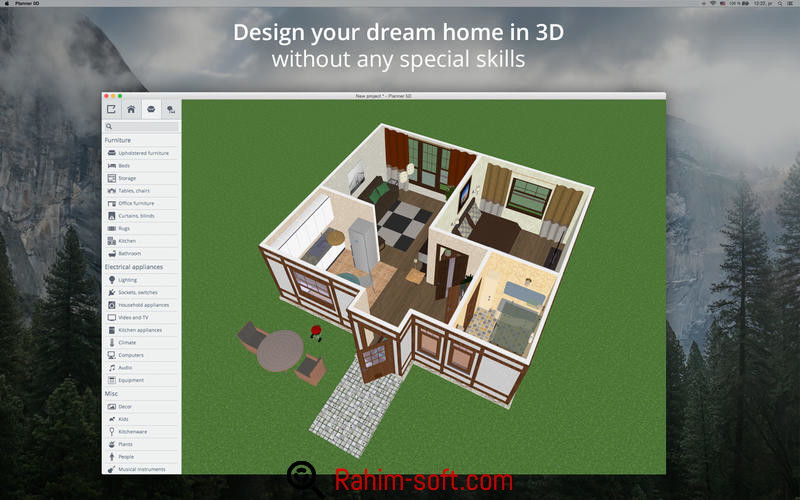 Planner 5D Interior Design 1.6.8 Unlocked Free download