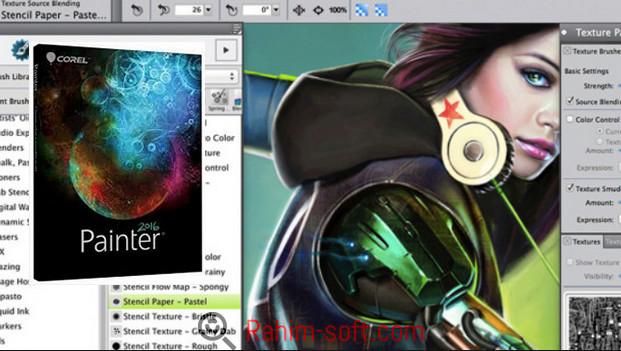 Corel Painter 2017 v16 Free download