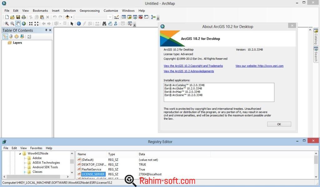 ESRI ArcGIS for Desktop 10.4 Free Download