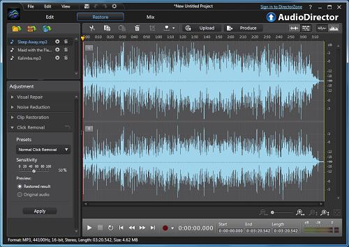 CyberLink AudioDirector Ultra v7 Free Download