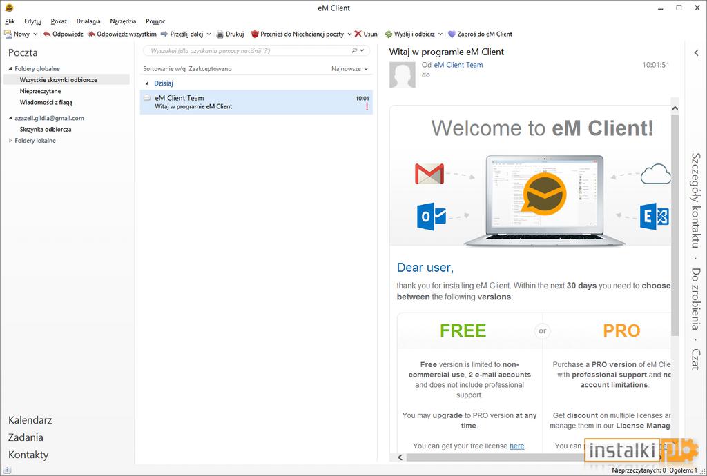EM Client 7.0.27 Email Management Free Download