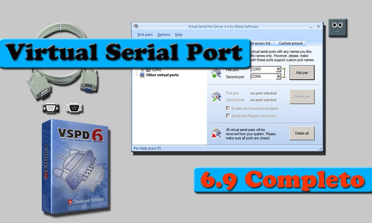 Virtual Serial Port Driver v8 Free Download