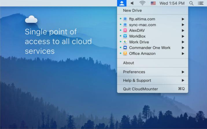 CloudMounter 1.2 Mac Free Download