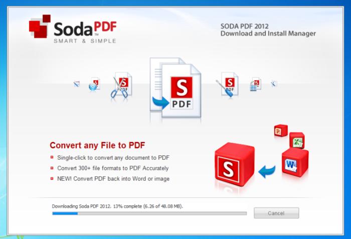 Soda PDF Standard 8.0 Free download