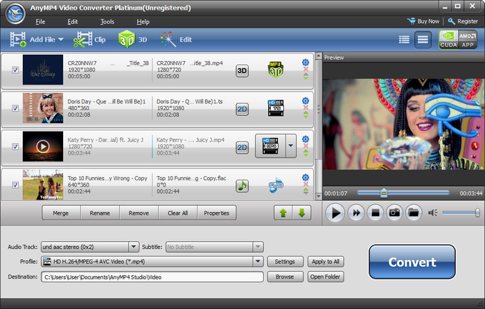 Video Converter Platinum 6.6.27 MAC Free Download