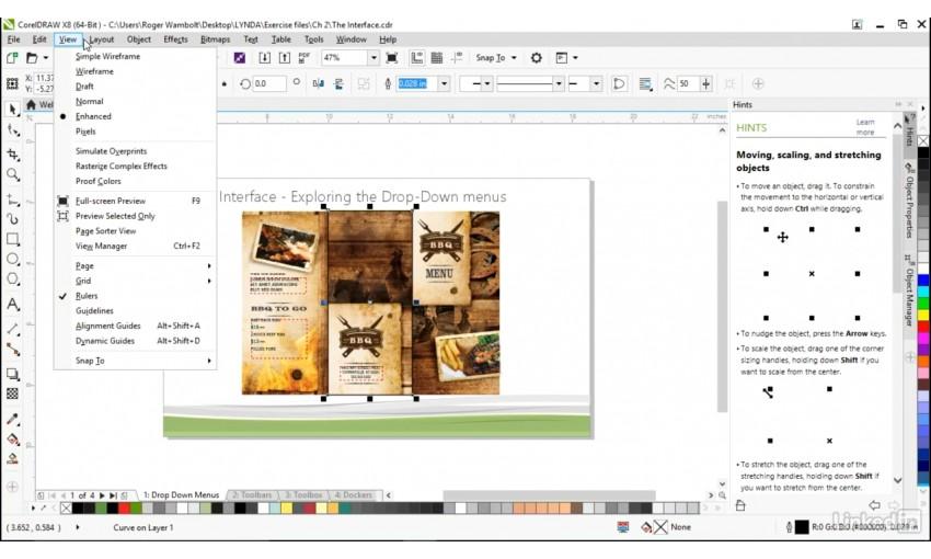 Lynda CorelDRAW X8 Essential Training Free Download