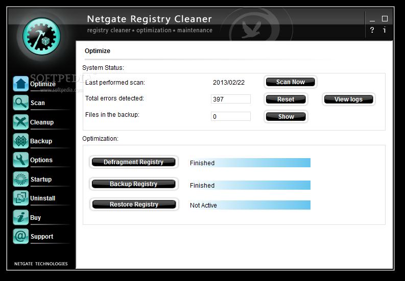 NETGATE Registry Cleaner 16.0 Free Download