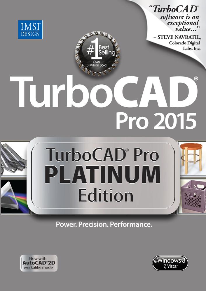 TurboCAD Pro Platinum 2015 22.2 Free download