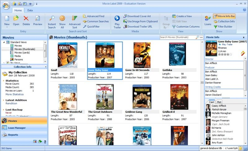 Movie Label 2017 Professional 12.0 Free Download