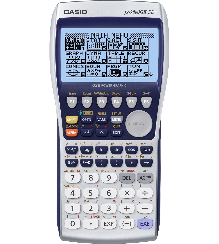 Casio FX 9860G SD Calculator Free Download