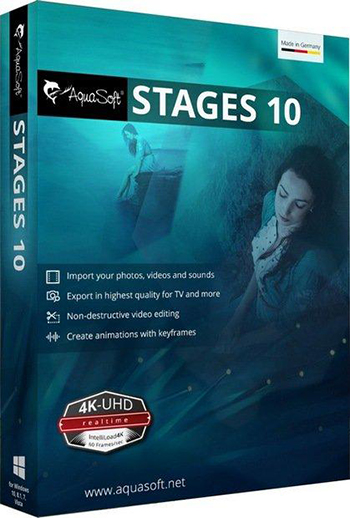 AquaSoft Stages 10.4 Free Download