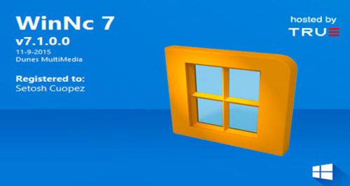 WinNc 7.7 Free Download