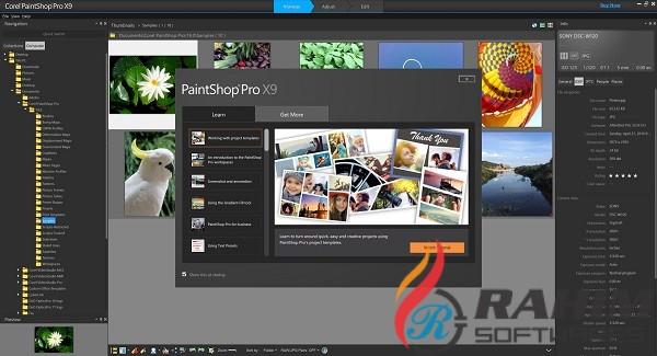 Corel PaintShop Pro X9 Free Download 32-64 Bit