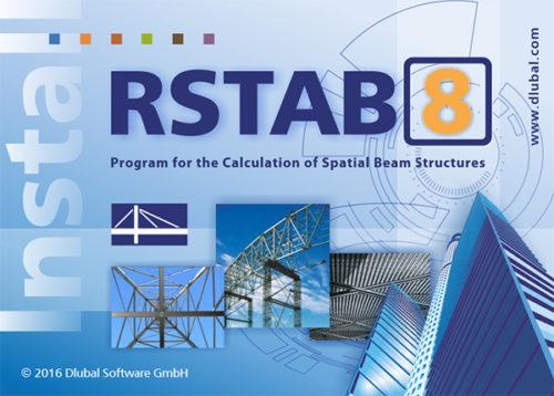 Dlubal RSTAB 8.06 Free Download