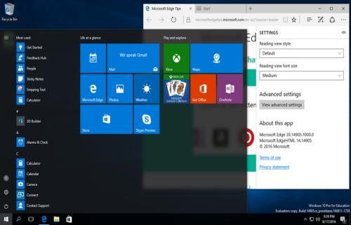 Windows 10 Redstone 3 Free Download