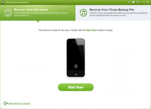 iSkysoft iPhone Data Recovery 2.6.1.2 Free Download